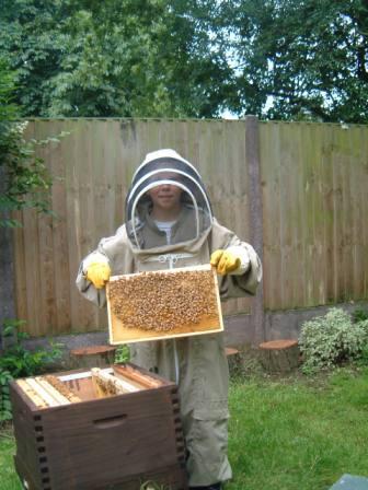young beekeeper