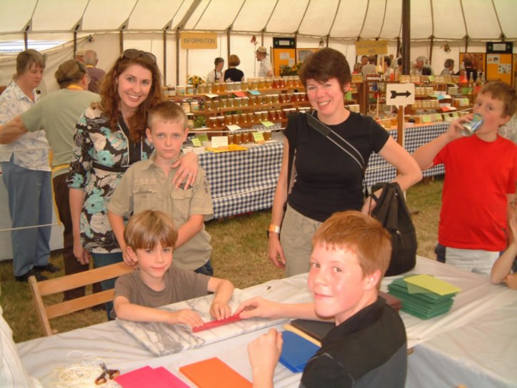 Candle making at the Essex Show